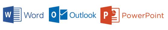 Logos Microsoft Word Outlook PowerPoint